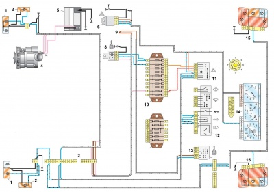 schaltpl niva 1 7 blinker ladawiki. Black Bedroom Furniture Sets. Home Design Ideas
